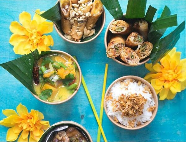 A selection of pinoy food cooked by Mama Z