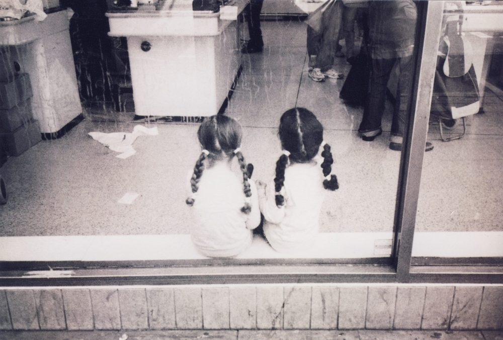 Esme Rees photo shop window