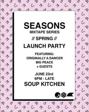 Seasons Launch Party