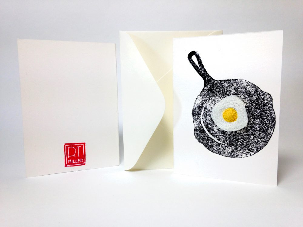 Rose Miller Egg Greetings Card