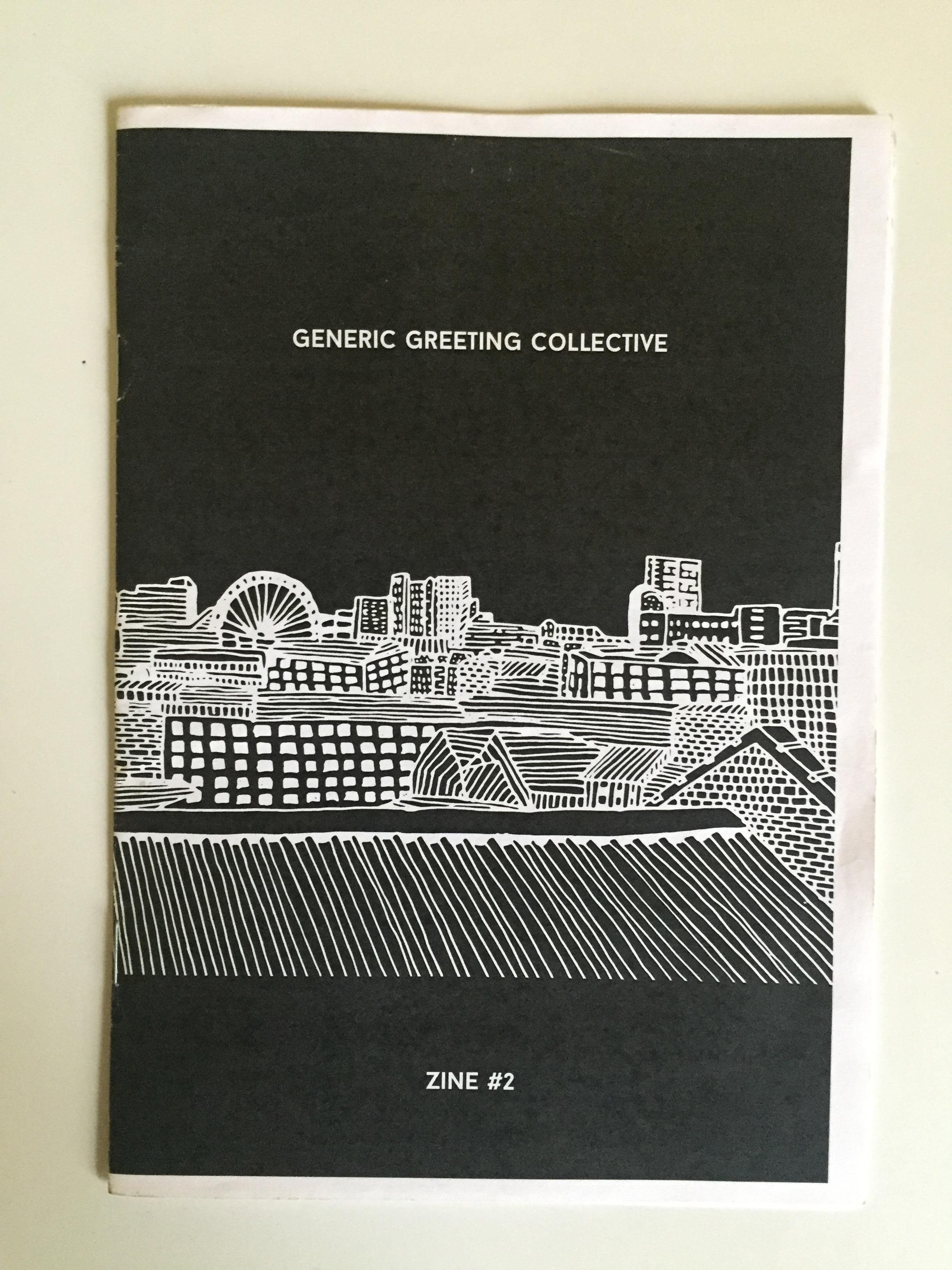'Generic Greeting Collective Zine #2'