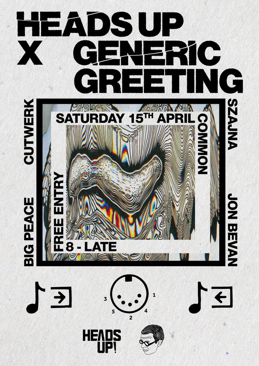 generic greeting x heads up