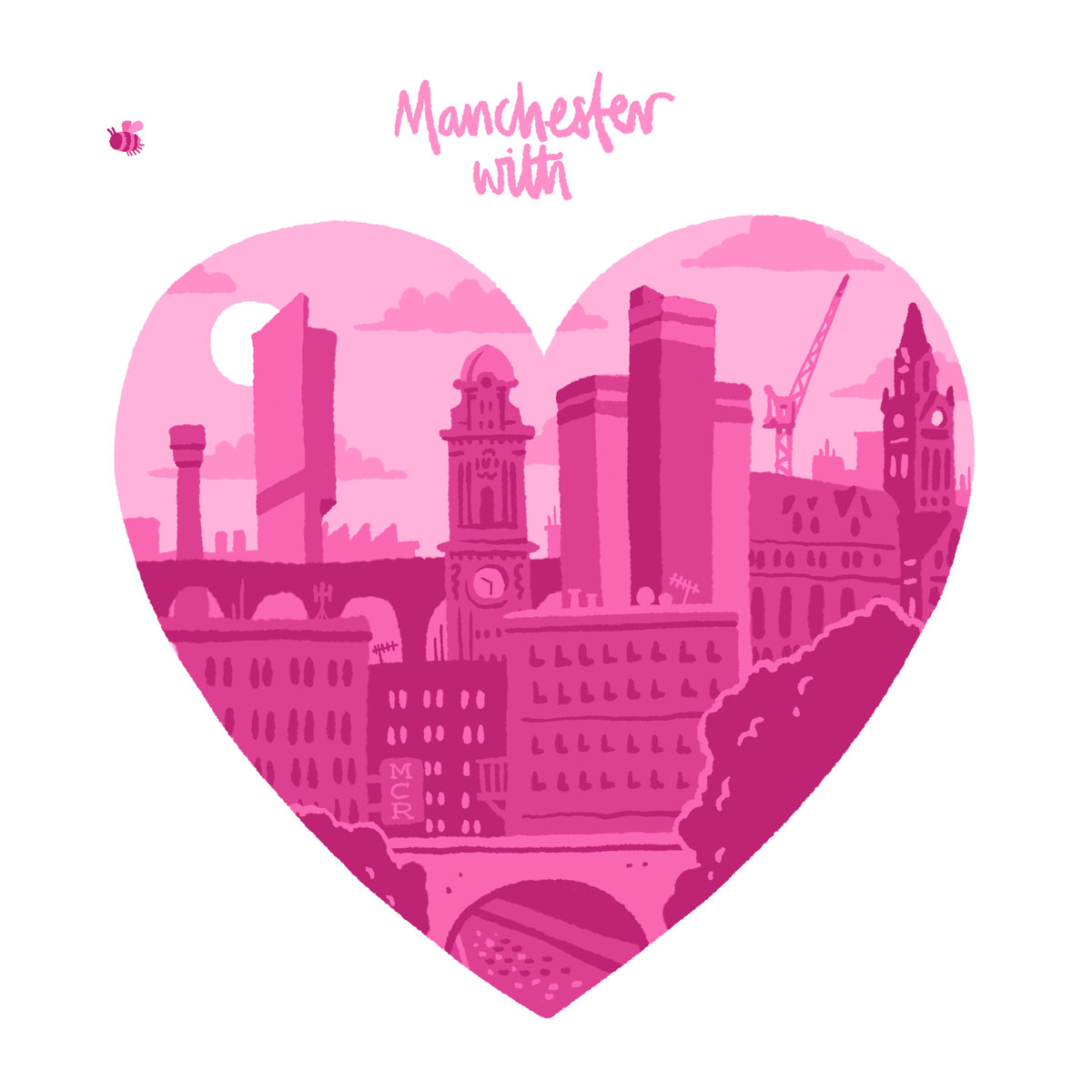 Manchester with Love compilation artwork