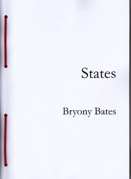 Bryony Bates, States, Enjoy Your Homes press